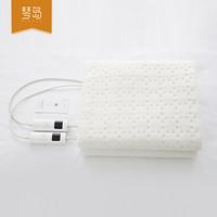 琴岛电热毯 智能除螨可水洗电褥子 双人双控家用温暖保护 长1.7米 宽1.5米 乳白色
