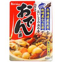 日本原装进口 好侍House 日式关东煮汤料火锅底料调料 炖菜料77.2g