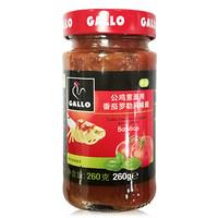 西班牙进口 公鸡(GALLO)公鸡意面用番茄罗勒风味酱260g 意大利面番茄罗勒风味调味酱
