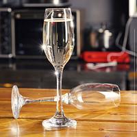 帕莎帕琦Pasabahce进口香槟杯高脚杯红酒杯葡萄酒杯白酒杯180ml2只套装