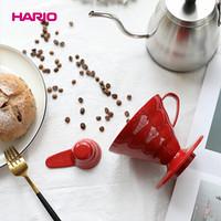 HARIO日本进口耐热树脂手冲咖啡滴滤式咖啡器具V60滴滤式滤杯01号
