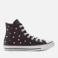 银联专享:CONVERSE 匡威 Chuck Taylor All Star 皮质款女士休闲鞋