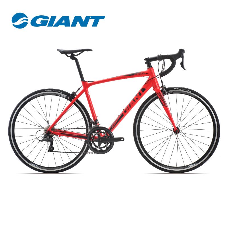 Giant捷安特SCR 2轻量铝合金16速运动健身成人变速弯把公路自行车
