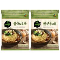 必品阁(bibigo)酱汤拉面 233g*2组合装 方便菜 晚餐食材 儿童食材