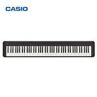卡西欧(CASIO)电钢琴 CDP-S150BK便携88键( 支持干电池)CDP-S100升级款  单琴头