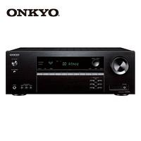 安桥(ONKYO)TX-SR393 家庭影院音响 音箱5.2声道AV功放 进口 杜比全景声 DTS:X 蓝牙优化 Hi-Res