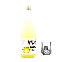 洋酒 梅乃宿 日本原装进口 日本酒低度酒女士酒 日本果酒 女士酒 柚子果肉 720ml