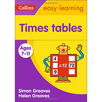 Times Tables Ages 7-11:(Ages 7-11) :Collins Easy Learning Ks2