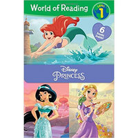 迪士尼公主故事分级阅读6本进口原版 盒装 分级阅读小学阶段(7-12岁)