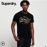 Superdry 极度干燥 SM10996NTM 男士印花短袖T恤