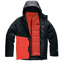 限尺码:The North Face 北面 Mountain Light Triclimate 男士3合1羽绒夹克