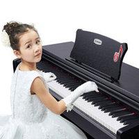 艾茉森(Amason)AP210电钢琴88键重锤电子钢琴儿童小钢琴家用初学自学京东自营配原装琴凳+原装耳机黑色