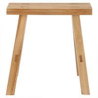 无印良品 MUJI 实木长凳/白橡/小 宽45*深30*高44cm