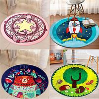 德阳 卡通儿童圆形地毯 60cm