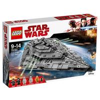 LEGO 乐高 Star Wars 星球大战系列 75190 第一秩序 歼星舰