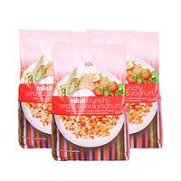 临期品:ICA 水果坚果即食燕麦片 500g*3包