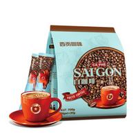 越南进口西贡三合一速溶白咖啡700g(35gx20条)