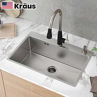 1日0点、61预告: Kraus 克劳思 CKHT100-2718 304不锈钢厨房水槽