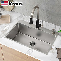 Kraus 克劳思 CKHT100-2718 304不锈钢厨房水槽
