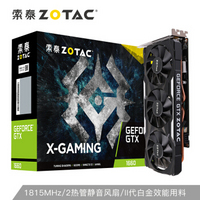 ZOTAC 索泰 GTX1660 X-GAMING OC HA 显卡 6GB