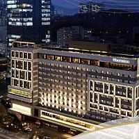 韩国首尔宫殿江南喜来登酒店 豪华特大床房/双床房2晚(延迟退房至下午2点)