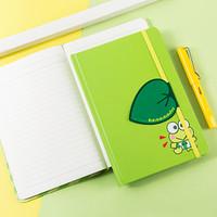广博(GuangBo) A5笔记本子硬面本学生卡通记事本 深绿凯蒂猫96张 KT81031