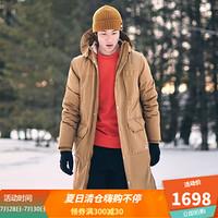TheNorthFace北面防水保暖羽绒服男户外|3VV3 D9V/卡其 L