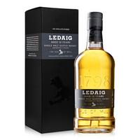 洋酒Ledaig里爵10年单一麦芽苏格兰威士忌