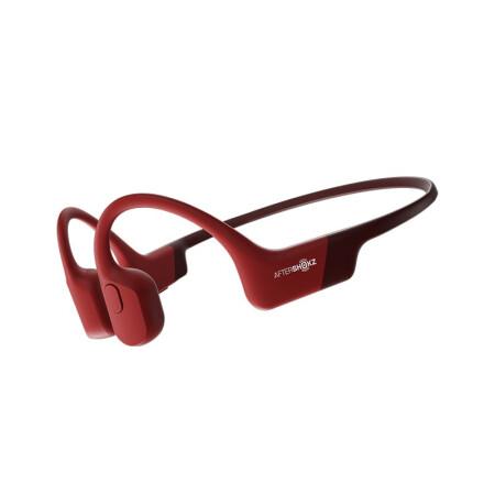 AFTERSHOKZ 韶音AS800 AEROPEX 骨传导蓝牙耳机运动无线耳骨传导耳机跑步骑行 烈日红
