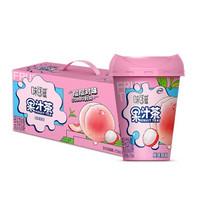 伊利 味可滋果汁茶饮料桃桃荔枝250ml*8盒/箱