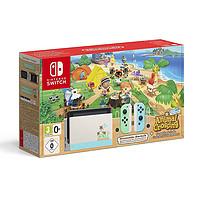 Nintendo任天堂 Switch NS续航增强港/台版 蓝绿限定(不含游戏)
