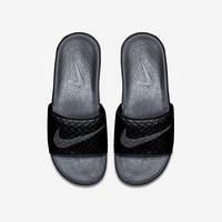 耐克Nike男士拖鞋一字型凉拖705474 Black/Anth M 11 / W 12.5