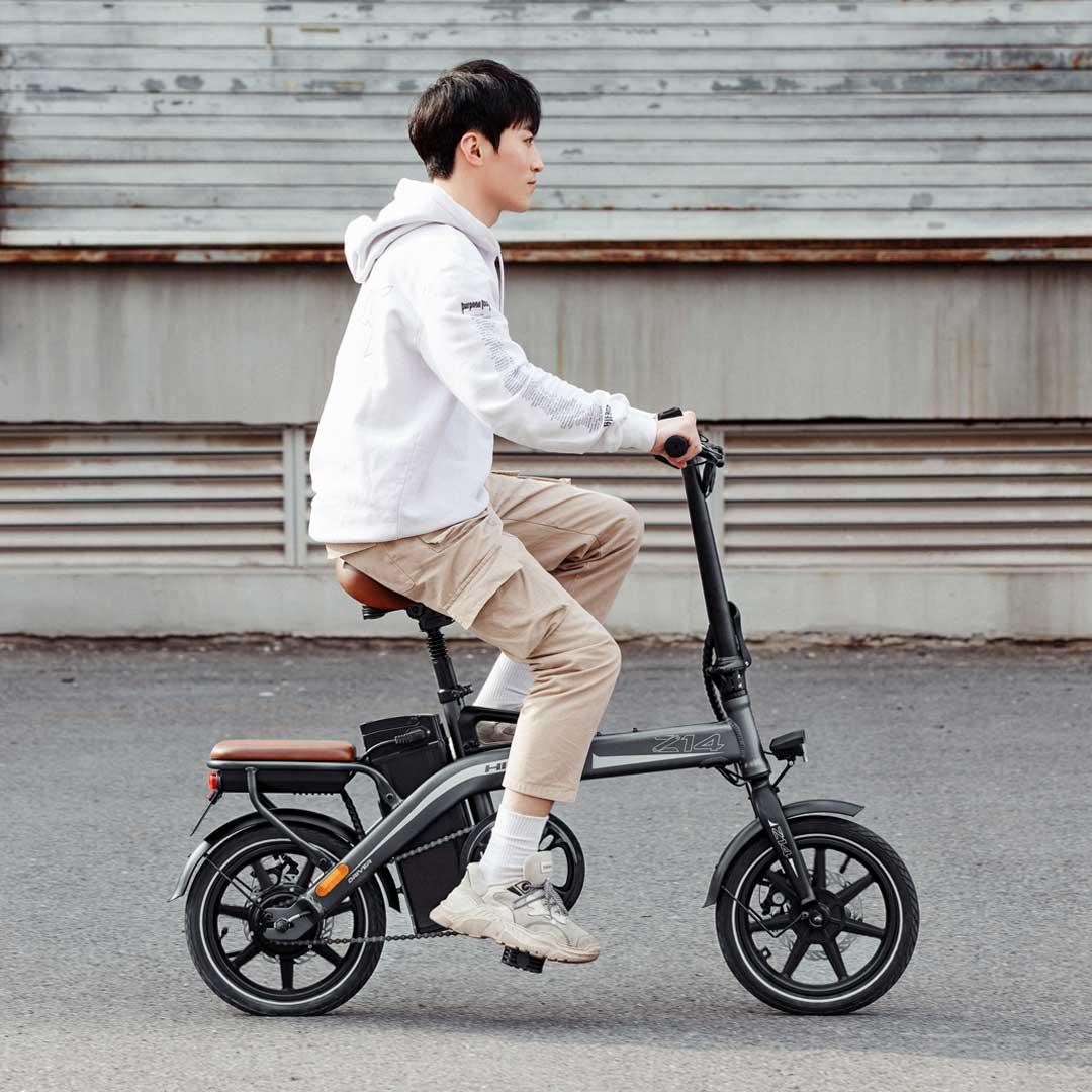 HIMO Z14 折叠电动助力自行车