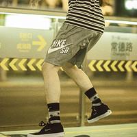 NIKE 耐克 Nike SB Sunday CI5853 男子印花滑板短裤