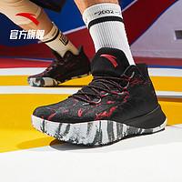 安踏要疯蝮蛇男子篮球鞋官网旗舰2020新款秋季kt球鞋汤普森篮球鞋