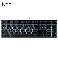 ikbc R300 白光 108键 cherry轴 游戏键盘 有线机械键盘 全尺寸背光机械键盘 黑色 黑轴