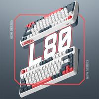 IQUNIX L80-动力方程式机械键盘 三模无线键盘 cherry青轴RGB版
