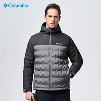 Columbia哥伦比亚羽绒服男户外秋冬奥米热能保暖防水透湿650蓬羽绒外套 EE1513 023 M