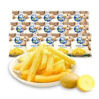 脆升升 原味原切薯条330g 10包送5包量贩大礼包 休闲零食 小吃零食