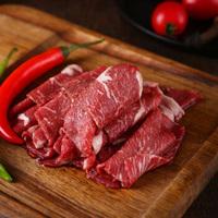 BRIME CUT 原切肥牛卷300g/袋 无添加牛肉片 烧烤肉 火锅食材 涮炒 打边炉