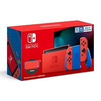 任天堂 Nintendo Switch 国行续航增强版 马力欧限定版套装