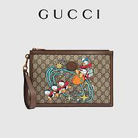 GUCCI古驰Disney x Gucci联名唐老鸭手拿包