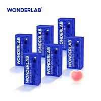 WonderLab 口服玻尿酸软糖 透明质酸钠水蜜桃夹心软糖 4g*20颗*6盒