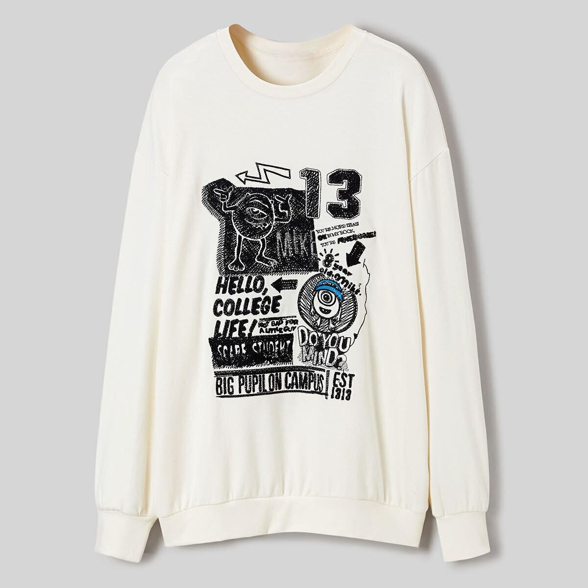 PEACEBIRD 太平鸟 A6DCA412289 女士长袖t恤