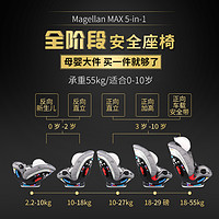 maxicosi迈可适magellan xp max麦哲伦旗舰款儿童汽车安全座椅