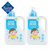 Sugar Bubble 韩国进口 婴儿用洗衣液 1.5L*2 宝宝洗衣液 儿童洗衣液 易洗易漂