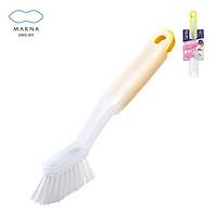 日本MARNA清洁刷地刷长柄刷子 浴房排水口除毛发神器 缝隙清洁镊子工具刷 扫除达人浴室清理刷组合 白色白刷头