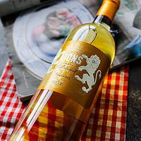 法国进口苏玳一级庄 绪帝罗酒庄副牌 2012年份苏迪洛之狮(旭金堡)贵腐甜白葡萄酒 750ml
