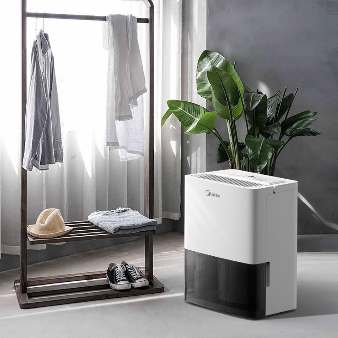 美的除湿机家用抽湿机卧室除潮干衣净化干燥吸湿器