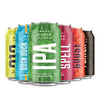 GOOSE ISLAND 鹅岛 精酿啤酒 啤酒组合装 6口味 330ml*6听